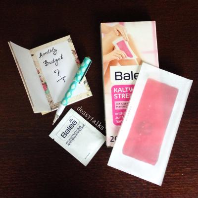 Balea hair removal
