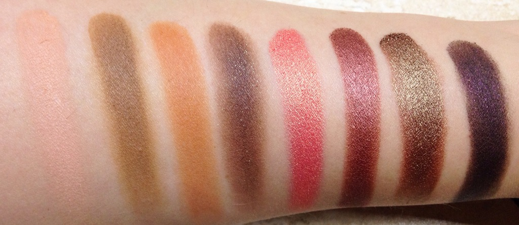 Makeup Addiction Cosmetics Vintage swatches (2)